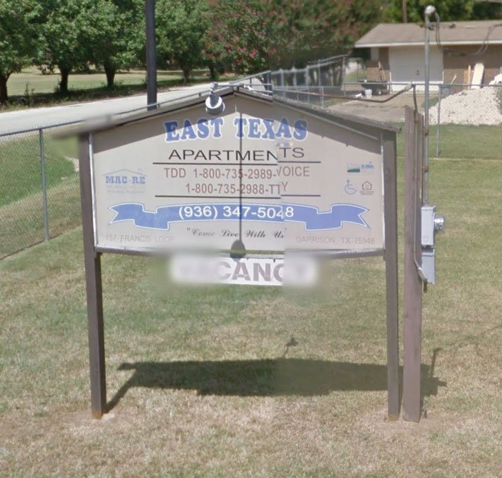 East Texas Apartments